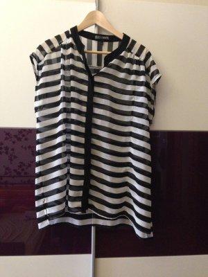 Bluse (Farbe schwarz-weiß) von s.Oliver