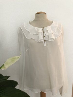 Atmosphere Ruche blouse wit