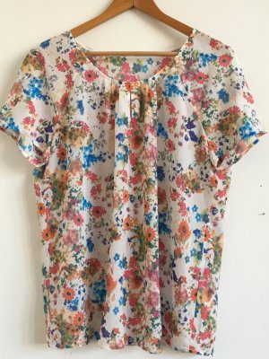 Bluse florales Muster