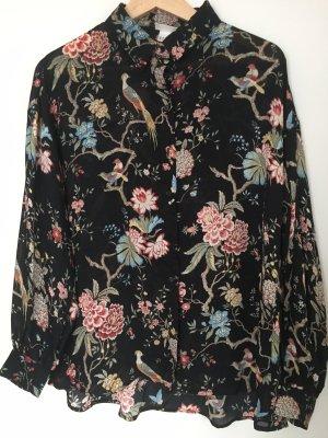Bluse Flower Print
