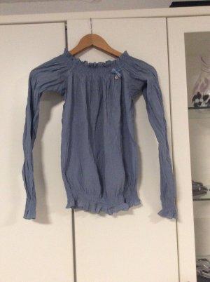 Fornarina Carmen Blouse cornflower blue