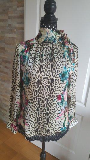 Fracomina Slip-over blouse veelkleurig Viscose