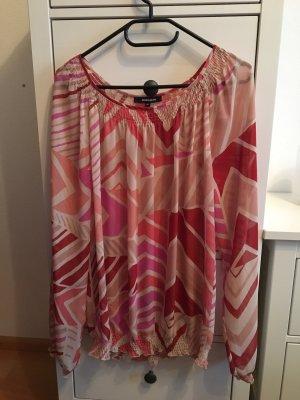 More & More Blusa transparente multicolor