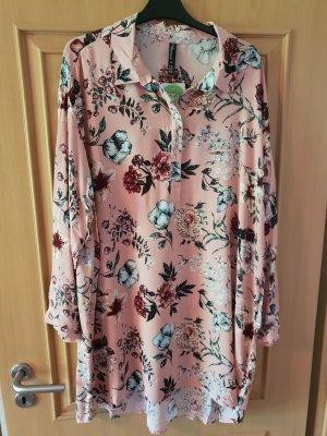 Lange blouse roze