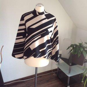 Zara Camicetta a blusa nero-bianco sporco