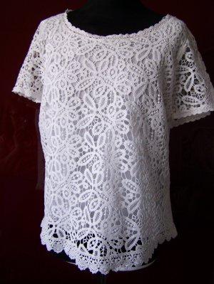 Bluse GERRY WEBER in Gr. 44, 100% Baumwolle, NEU mit Etikett
