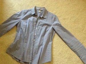 Bluse gestreift tailliert