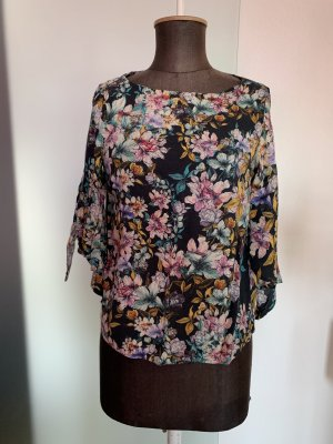 H&M Blusa collo a cravatta multicolore