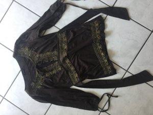 Vero Moda Kimono blouse bruin