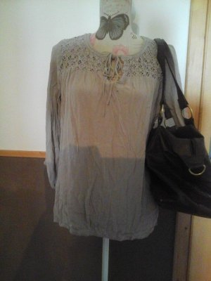 Bluse Gr. 36 Taupe Tom Tailor wie neu