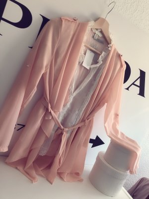 100% Fashion Long Sleeve Blouse nude-apricot