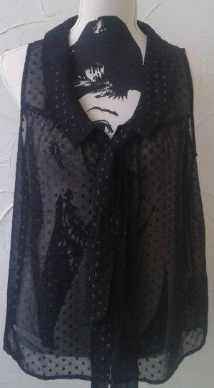 Bluse  Gr. 38, transparent