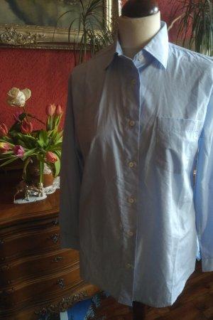 Greiff Blusa de manga larga azul celeste