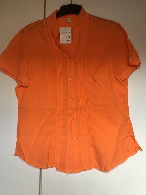 Short Sleeved Blouse orange