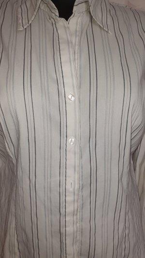 More & More Blouse Collar white-black