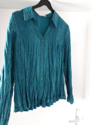 Bonita Crash Blouse petrol