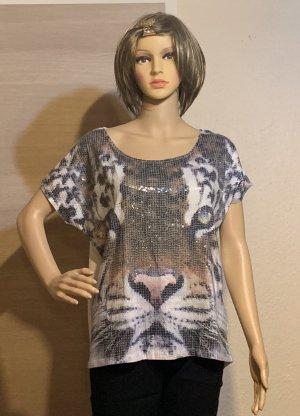 Amisu Short Sleeved Blouse multicolored