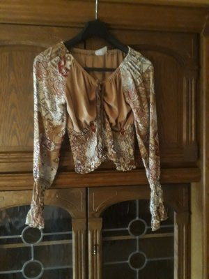 Blouse topje brons