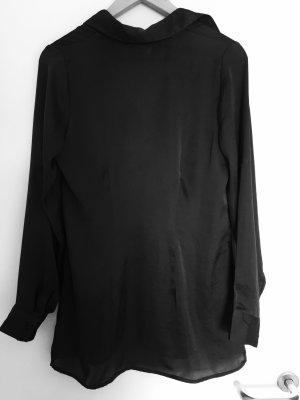 Bluse grau / schwarz