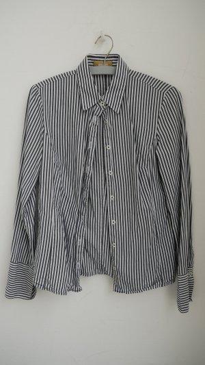 Bluse # graue Steifen # Einhorn # 36