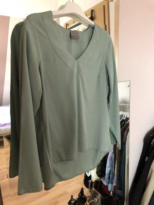 Vero Moda Blouse brillante gris vert