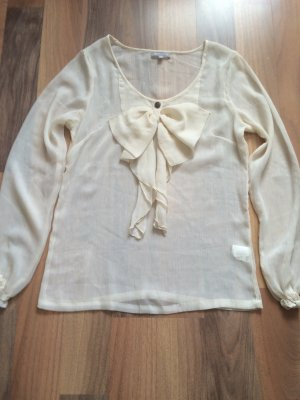 3 Suisses Long Sleeve Blouse cream