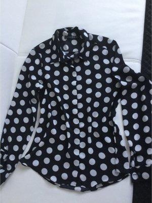 Bluse, Größe 38, schwarz/weiß, kaum getragen