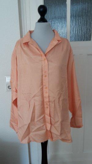 Colletto camicia color carne-albicocca