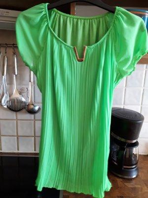 Bluse grüne mit silber oben