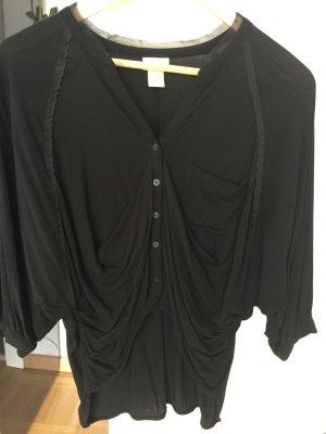 Bluse h&m 3/4-Ärmel schwarz 36