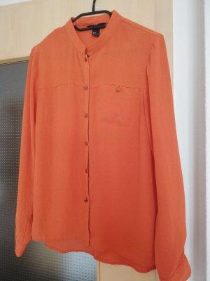 Bluse - H&M - 36 - rostbraun