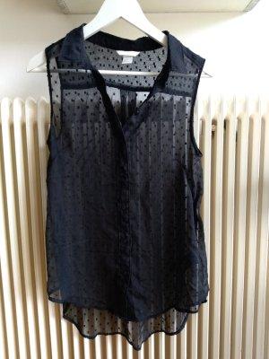 H&M Blusa nero Poliestere