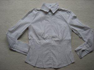 bluse H&M damenbluse wiess gr. 34 xs topzustand
