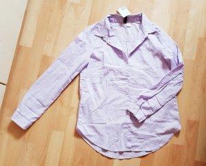 Bluse H&M flieder Gr. 36 - 100% Baumwolle - NEU!