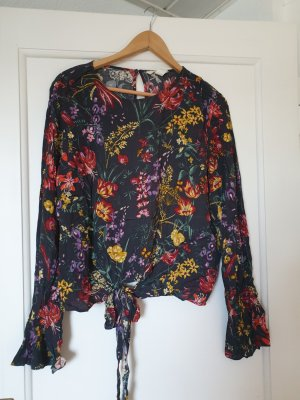 H&M Wraparound Blouse multicolored