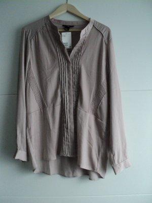 Bluse H&M Gr46 transparente Schulter