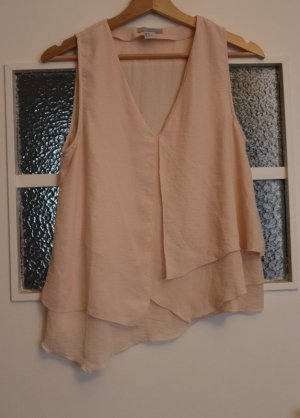 H&M Blouse sans manche rose chair