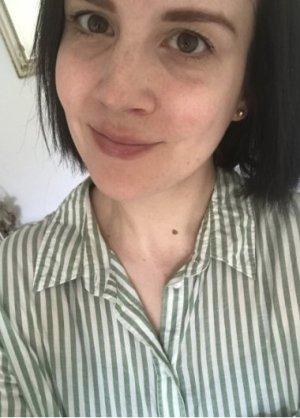 Bluse H&M Hemd Streifen gestreift