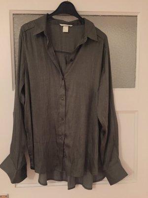 Bluse H&M, Seidenlook, oversize, wie neu