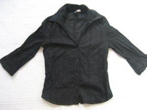 bluse H&m sommer schwarz topzustand gr. xs 34