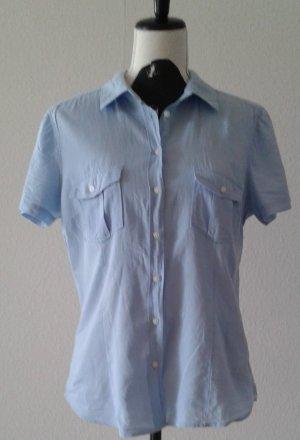 Bluse, hellblau,  Gr.42