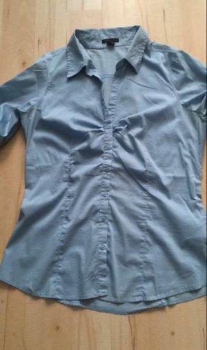 Bluse hellblau Gr XL