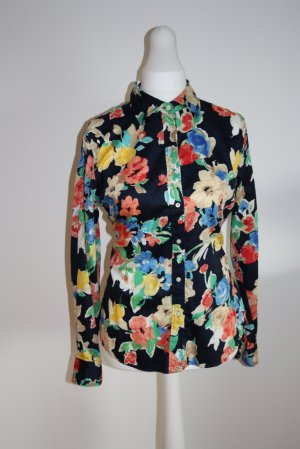 Lauren by Ralph Lauren Blouse à manches longues multicolore coton