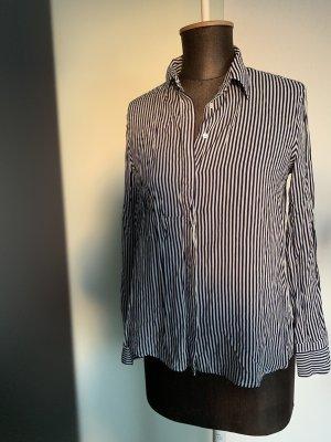 Bluse Hemd gestreift Gr 36 38 S von Mango