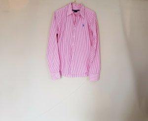 Bluse Hemd gestreift rosa gr. 38 von Ralph Lauren