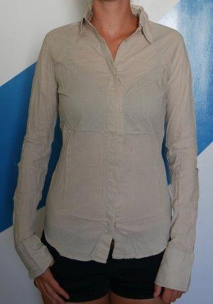 Bluse Hemd Humanoid S Beige Nachhaltig 36