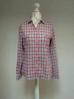 Bluse, Hemd, kariert,klassisch von Mango