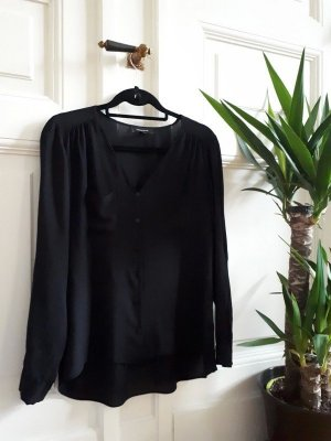 Bluse Hemd Klassiker Black