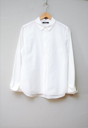 Backstage Blouse-chemisier blanc coton