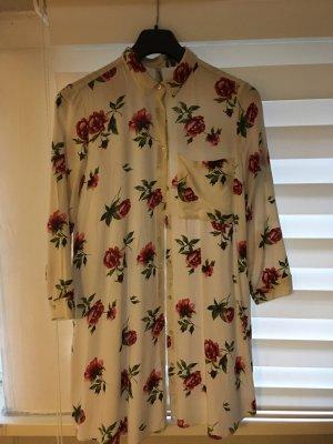 Bluse, Hemd mit Blumen